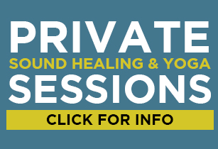 Private sound helaing and yoga sessions